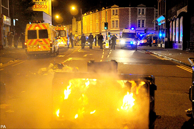 Bbc News England Riots Timeline And Map Of Violence
