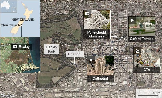 Christchurch New Zealand News: New Zealand Earthquake: 65 Dead In Christchurch