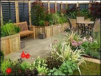 Bbc norfolk credit crunch garden design on a budget for Garden design on a budget uk