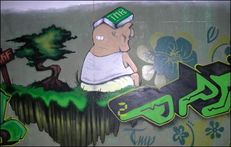 Graffiti Characters Unique Designs 212