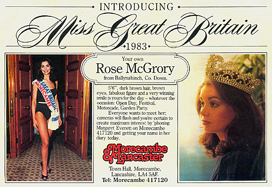 miss great britain