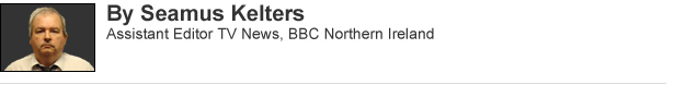 Seamus Kelters: Assistant Editor TV News, BBC Northern Ireland