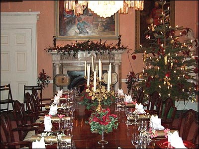 Kepler house wallpaper modern and luxury christmas for Fancy xmas decorations