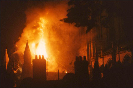 York minster fire 1840