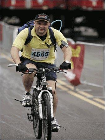 ride bike. Great Notts Bike Ride 2007
