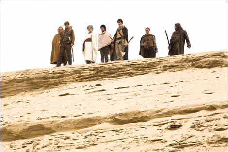The gang in search of King Richard