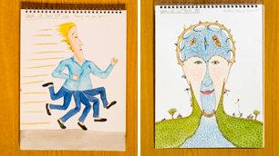 Bobby Baker's diary drawings