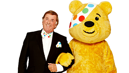 Terry Wogan and Pudsey