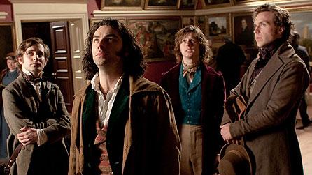 (Id) Sam Crane como Fred Walters, Aidan Turner como Dante Gabriel Rossetti, Samuel Barnett como John Millais, Rafe Spall como William Holman Hunt