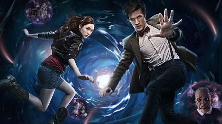 Matt Smith and Karen Gillan in the new Doctor Who