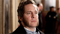 John Ruskin (Tom Hollander) takes an interest in the work of the Pre-Raphaelite Brotherhood