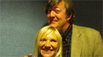 Stephen Fry with Jo