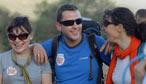 Scott on the Red Nose Desert Trek