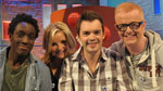 Chris and the Blue Peter presenters