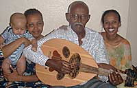 Ahmed 'Hudeydi' Ismail Hussein and family