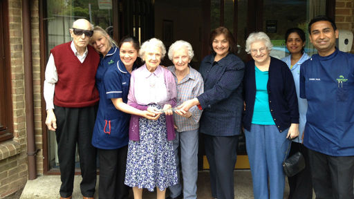 Residents in a Bromley care home
