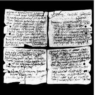 Ancient Roman Writing System