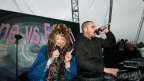 Fearne Cotton and Zane Lowe on the Outdoor Stage