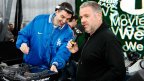 Chris Moyles and Tim Westwood on the Outdoor Stage