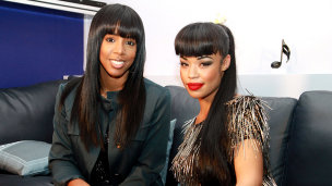 Kelly Rowland with Sarah Jane Crawford