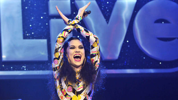 Jessie J performing at BBC 1Xtra Live