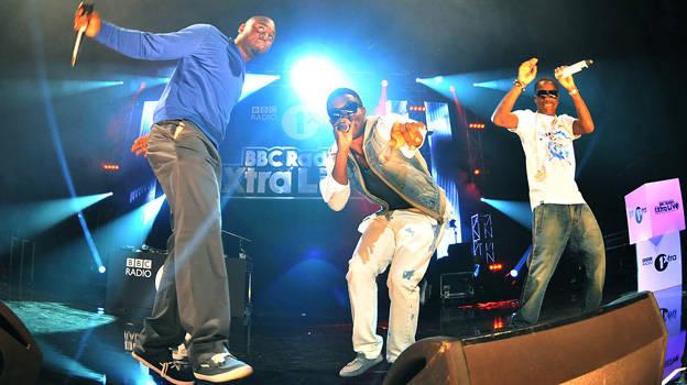 Tinchy Stryder performing at 1Xtra Live 2011