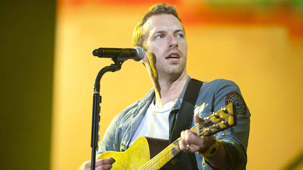 Coldplay at T in the Park 2011