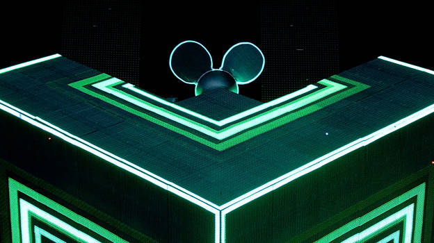 Deadmau5 at T in the Park 2011