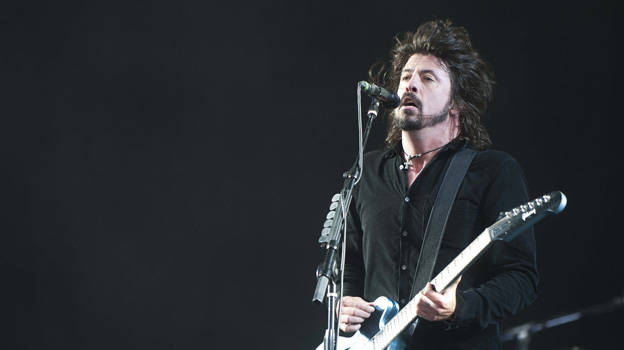 Foo Fighters at T in the Park 2011