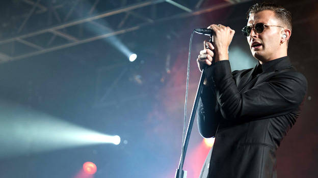 Hurts at T in the Park 2011