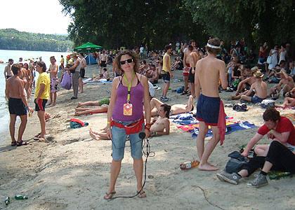 Na plaži Dunava