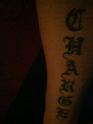 Name Tattoo On Arm