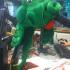 Richard's Loch Ness Monster Head - 2004