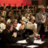 Simon Mayo and Mark Kermode applaud saxophonist John Harle and the BBC Philharmonic