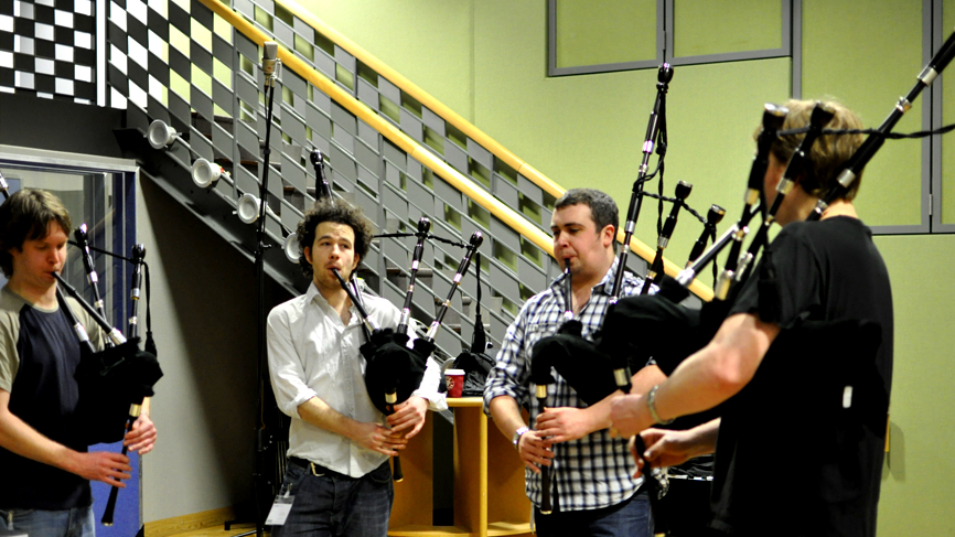 Piping quartet called 'Seudan'.