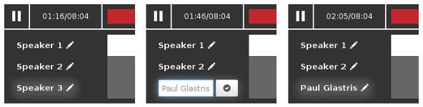 steps for naming a speaker
