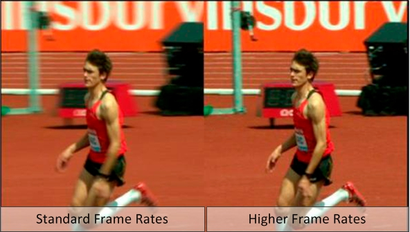 Higher Frame Rate Comparison