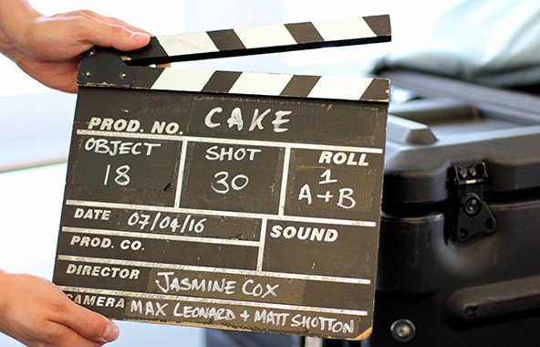 Object-based clapper board