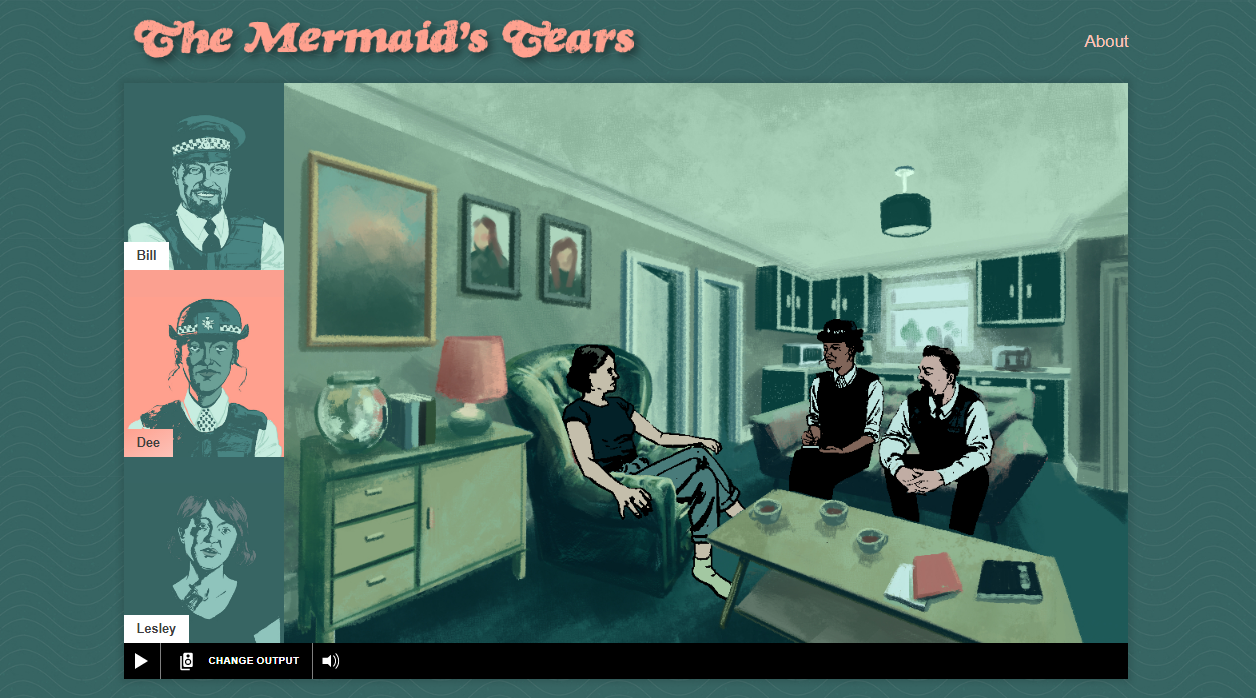 Interface of the ORPHEUS Mermaid's Tears trial.