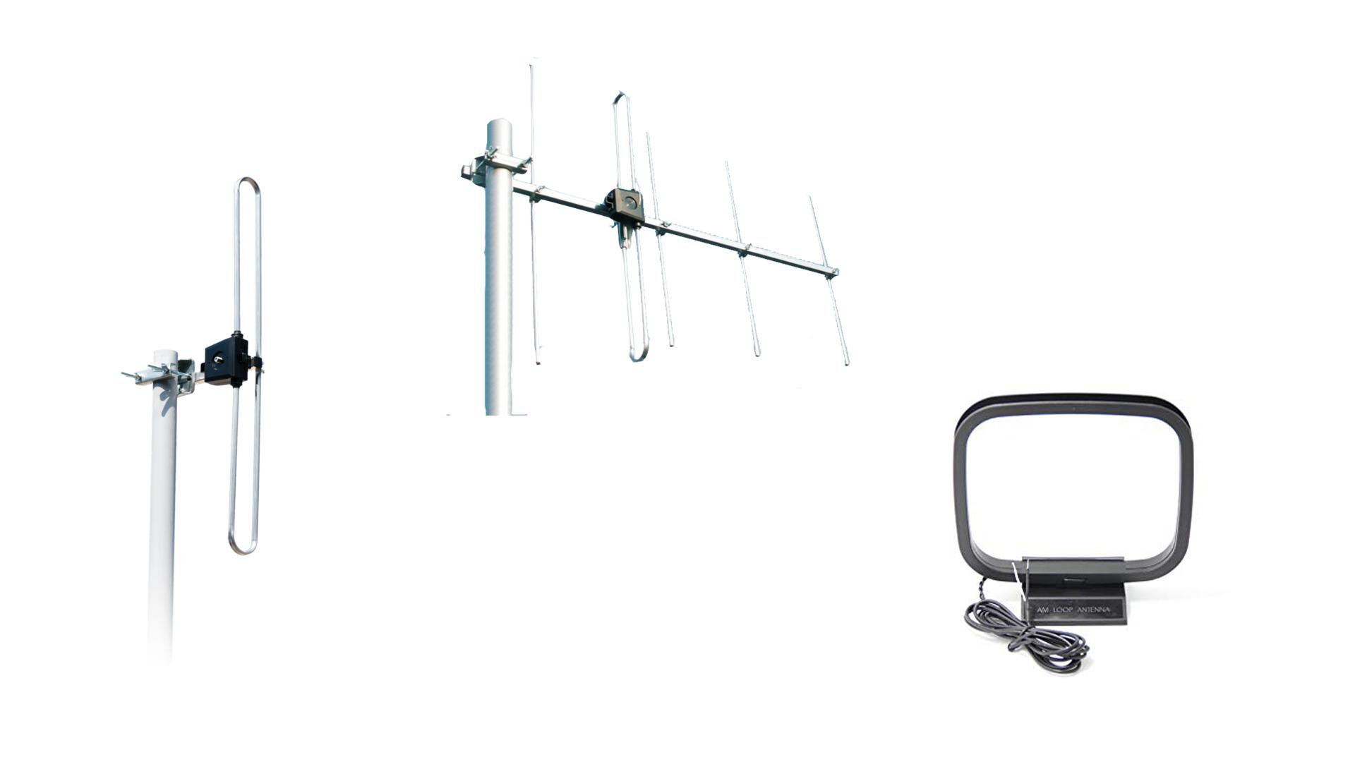 Examples of radio aerials