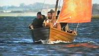 Patrick returns to Ireland in a sailing boat
