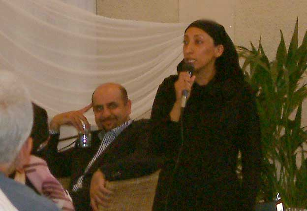 Aaqil Ahmed and Shazia Mirza