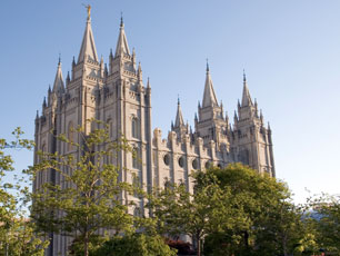 Mormon temple (Image: Legacy Images/iStockphoto)