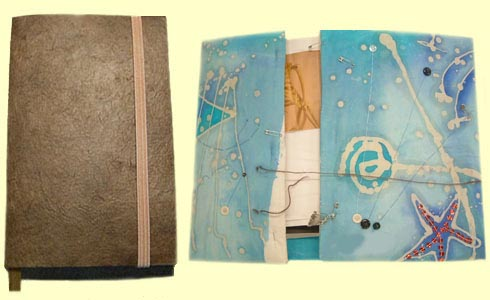 The size of your work journal is up to you and your art teacher.