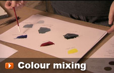 Watch colour mixing video