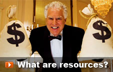 Watch 'What are resources' video