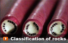Watch 'Classification of rocks' video