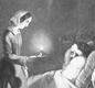 Florence Nightingale was known as the Lady with the Lamp. During the Crimean War she treated wounded soldiers in hospital and would check on them at night, carrying a lamp with her.