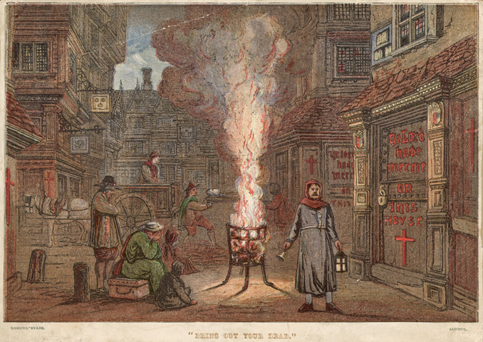 black plague of london 1665 Under london are plague pits used to bury victims of the black death and the great plague of 1665 where are the plague pits in london and why were they dug.