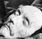 This death mask is believed to be Shakespeare's. In Shakespeare's time people often made a wax or plaster cast made of a person's face following their death as mementos, or to make portraits.